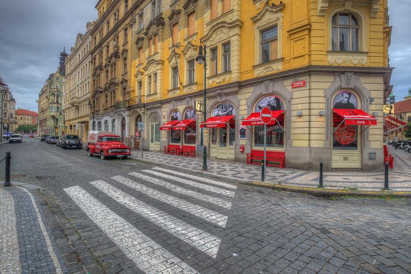 James Dean Restaurant, Old Town Prague