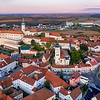 Mikulov Castle and Grounds at Dawn
