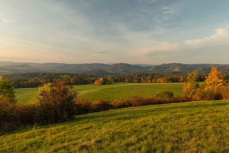 Pohled z Větrného vrchu
