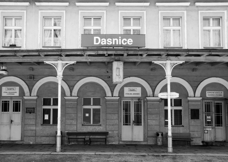 The station of Dasnice is a remnant of the Austro-Hungarian Empire in the Karlovy Vary Region of the Czech Republic.
