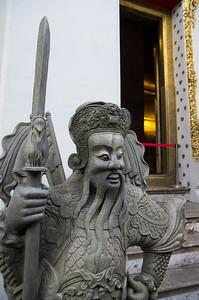Čínský strážce u brány