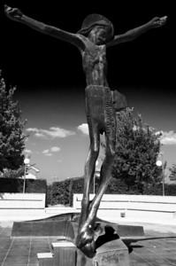 Socha Vzkříšeného Krista
