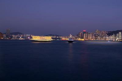 Ostrov Hong Kong - nábřeží