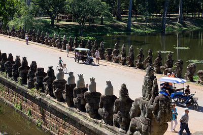 Angkor Thom - jižní brána