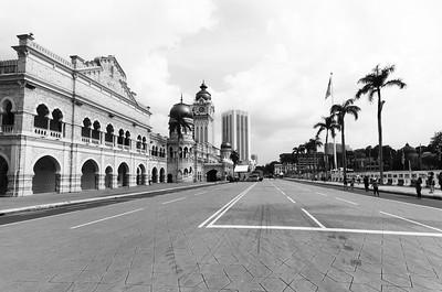 Merdeka Square - náměstí Nezávislosti