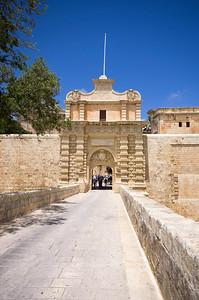 Mdina - Hlavní brána
