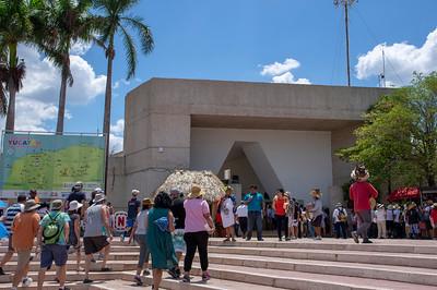 Chichen Itzá - hlavní vchod