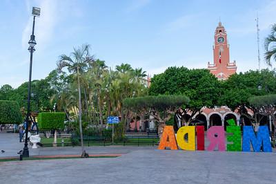 Merida - hlavní náměstí