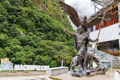 socha vládce Pachacuti
