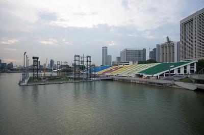 Marina Bay plovoucí pódium
