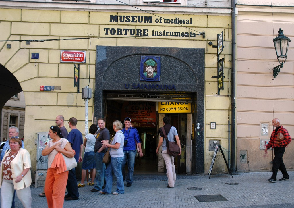 This picture is self-explanatory. The shop is at the entrance to the Charles Bridge.