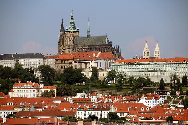 Prague Castle. Pražský hrad, Prague, Czech Republic