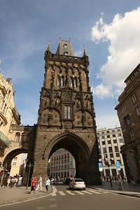 Powder Tower, Prašná brána, Old Town, Staré Mesto, Prague, Czech Republic