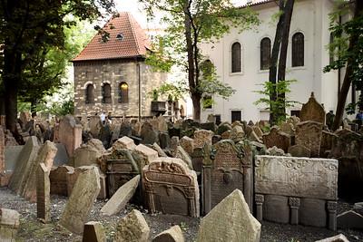 Old Jewish Cemetery, Starý židovský hřbitov, Prague, Czech Republic