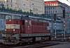 CD 742-381 runs through Praha Hlavni on 22 September 2005 as the morning sun begins to light up the buildings around the station