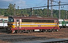 240-094 runs around its train at Jihlava on 22 September 2005 having arrived with a passenger service from Plzen