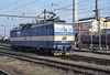 CD 363-170 runs around its train through the yard at Breclav on 7 November 2006