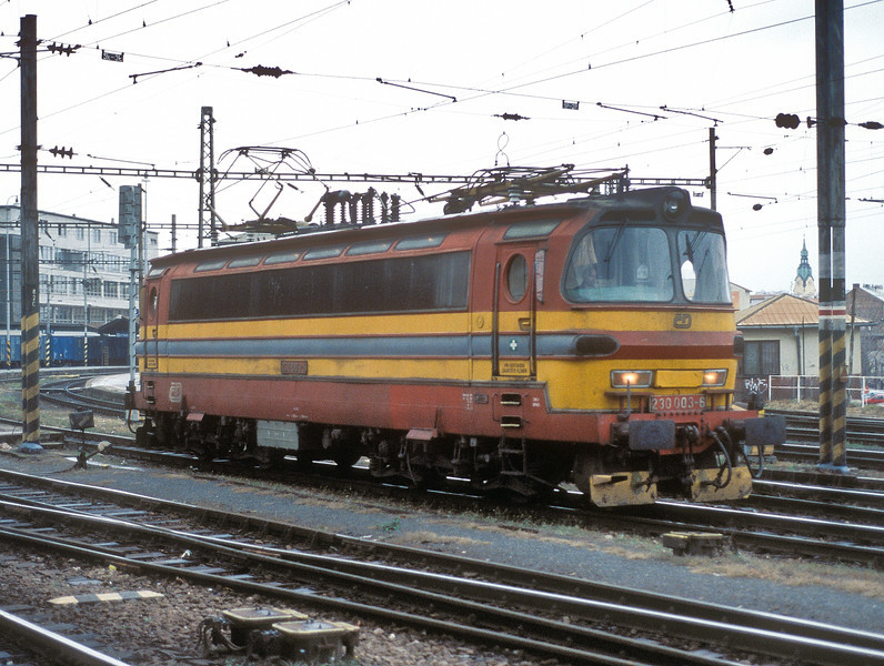 By the standards of the rest of the class CD 230-003 is remarkably clean in this shot at Brno HN on 6 November 2006
