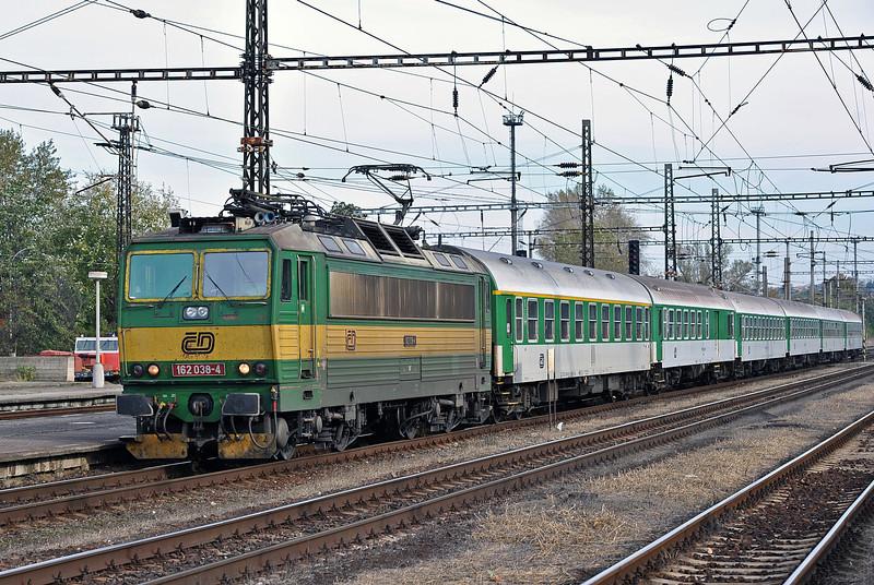 CD 162-038 returns at Kralupy nad Vitavou on 22 October 2010