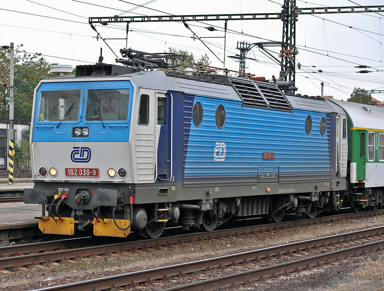 CD 163-036 arrives at Kralupy nad Vitavou on 22 October 2010