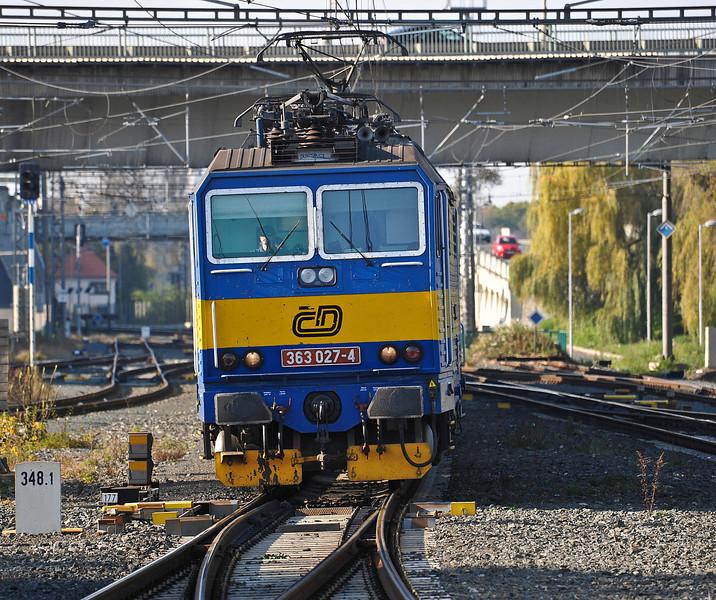 CD 363-027 approaches Kolin on 23 October 2010