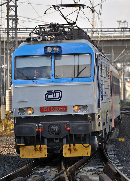 CD 151-020 at Kolin on 23 October 2010