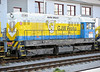 GJW Praha stables locos at Kolin when not in use on infrastructure trains - 721-540 was there on 23 October 2010