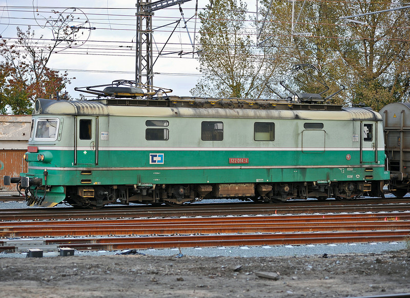 CD Cargo 122-014 at Kolin on 23 October 2010