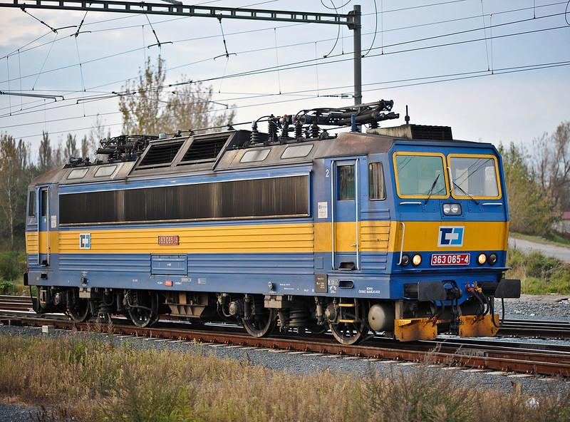 CD Cargo 363-065 at Kolin on 23 October 2010