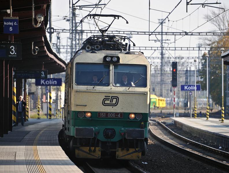 CD 151-006 runs into Kolin on 23 October 2010