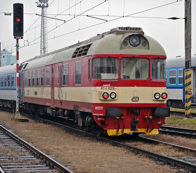 Slightly dented CD 854-025 at Brno on 24 October 2010
