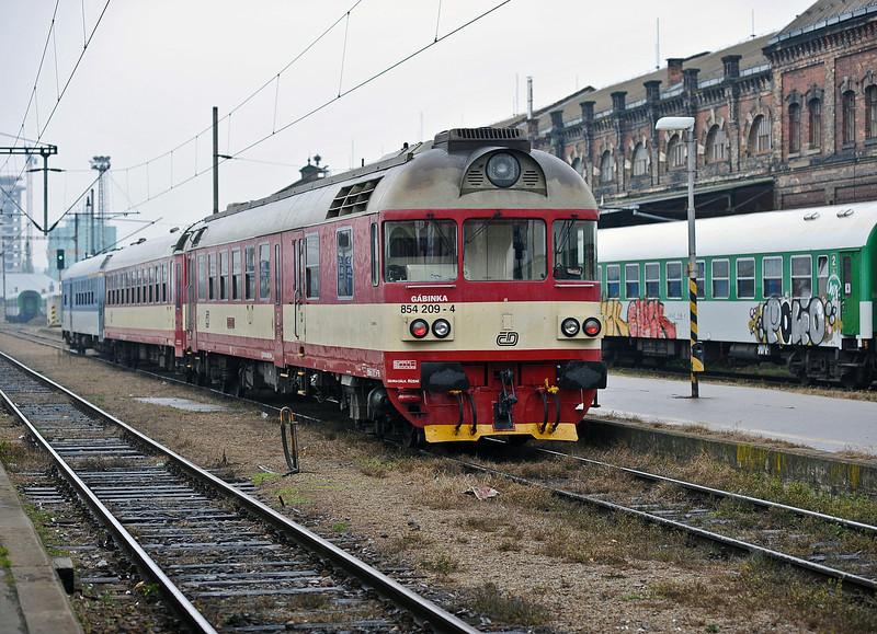 CD 854-209 leaves Brno on 24 October 2010
