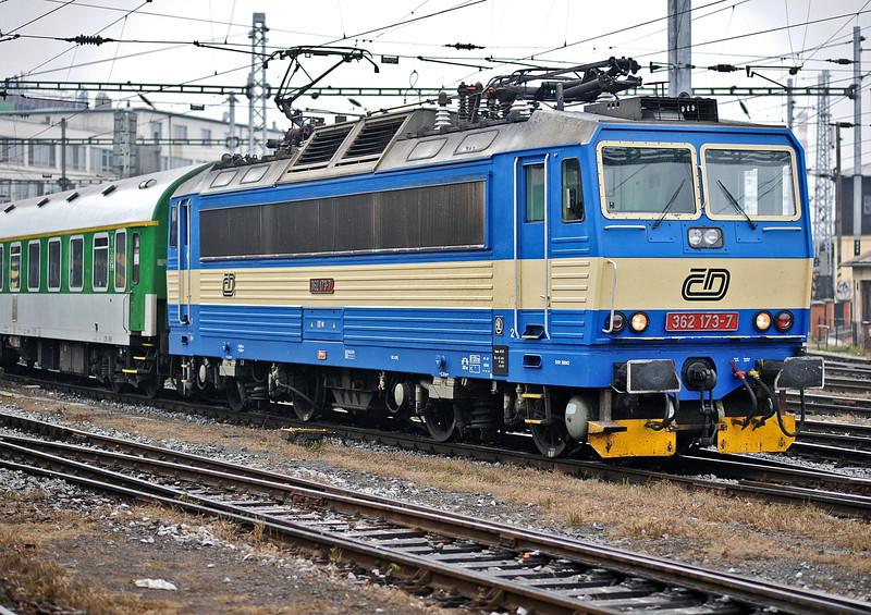 CD 362-173 leaves Brno on 24 October 2010
