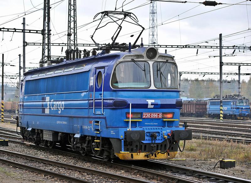 CD Cargo 230-096 at Havlickuv Brod on 24 October 2010