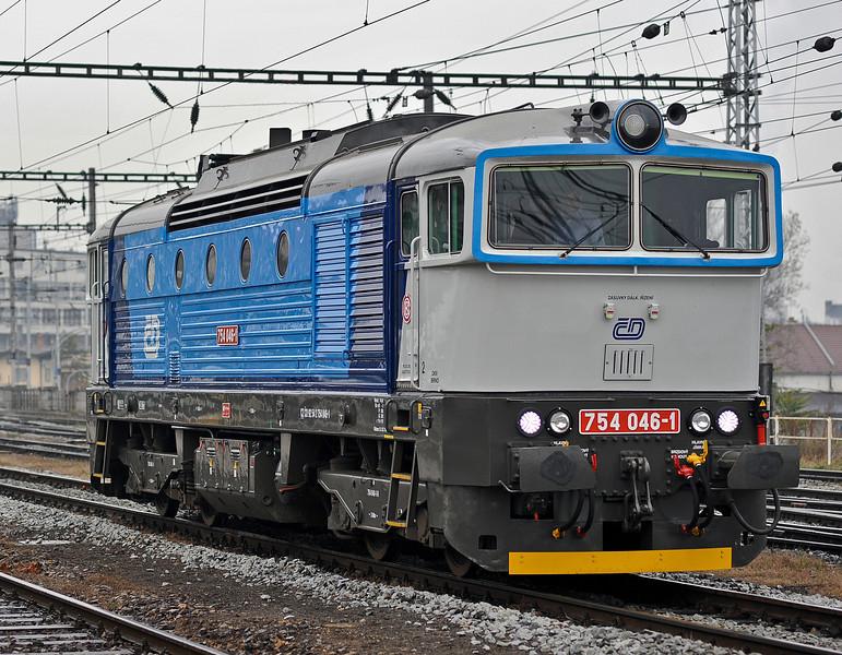 CD 754-046 at Brno on 24 October 2010