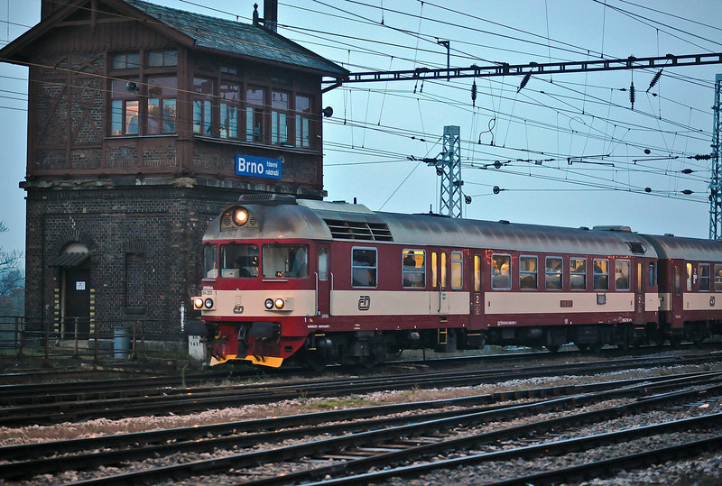 CD 854-201 arrives at Brno on 24 October 2010