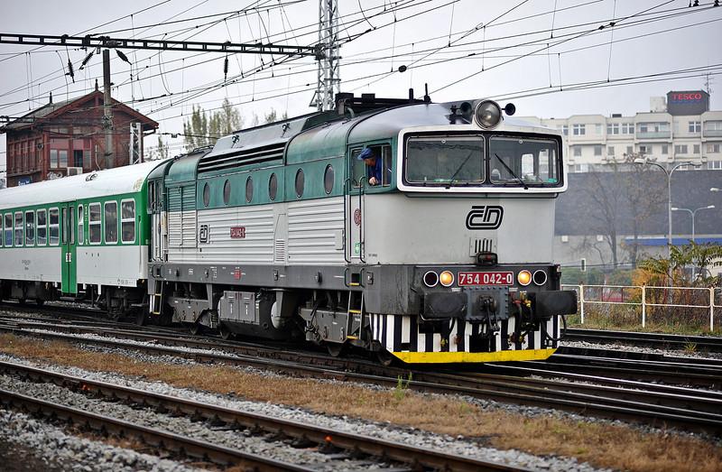 CD 754-042 at Brno on 24 October 2010