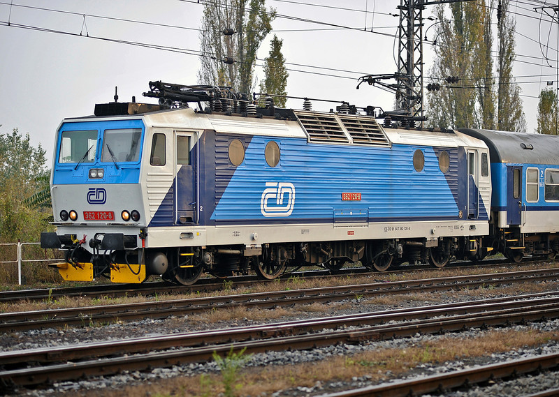 CD 362-160 arrives at Brno on 24 October 2010