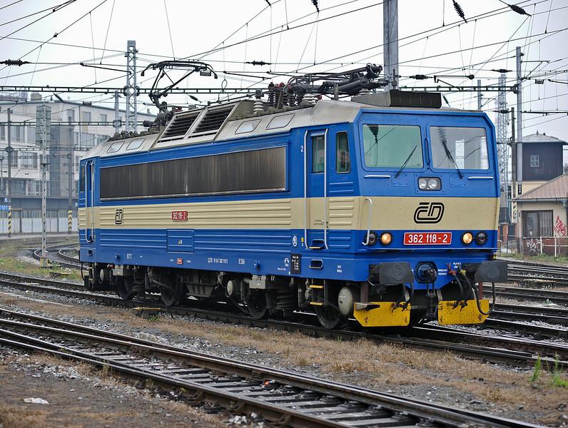 CD 362-118 at Brno on 24 October 2010