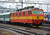 One of only two AC only Class 263 on CD, locally based 263-002 leaves Brno on 24 October 2010