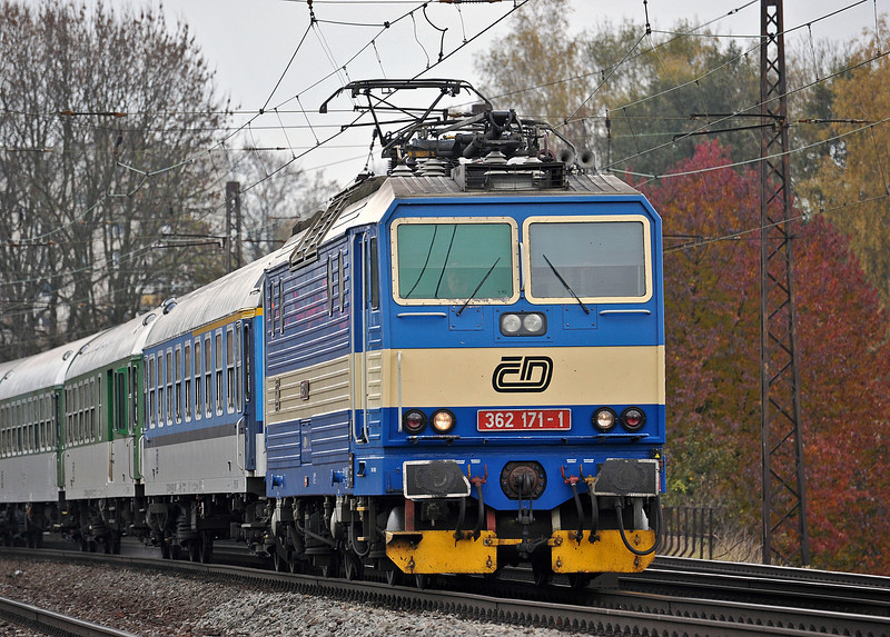 CD 362-171 Ceske Trebova 26 October 2010