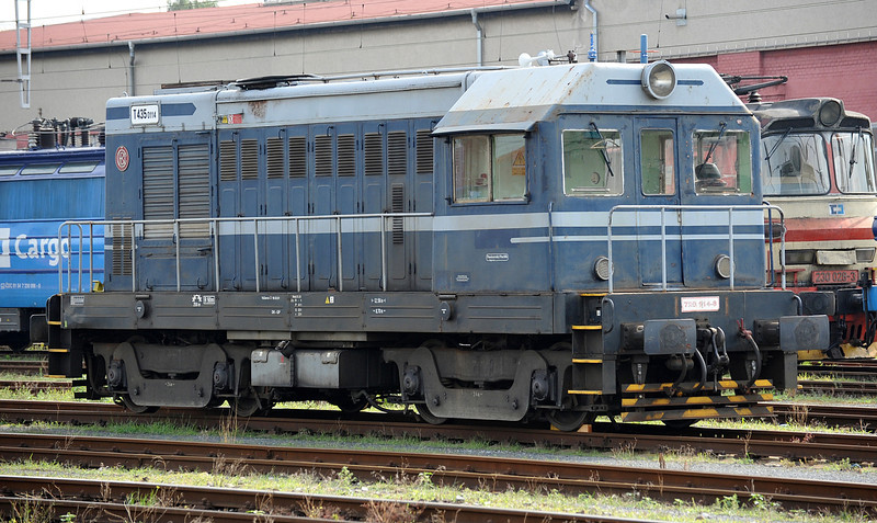 720-114 is probably a privately owned locomotive but it has no immediate identification features apart from a marking on the cab for 'Posázavský Pacifik' which appears to be a preservation line in the Prague area. Maybe it is lost?