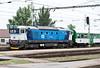 Recently rebuilt CD 750-709 arrives at Brno HN on 28 July 2011