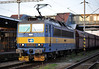 CD Cargo 363-006 pauses at Ostrava on 28 September 2011 with a train of hoppers