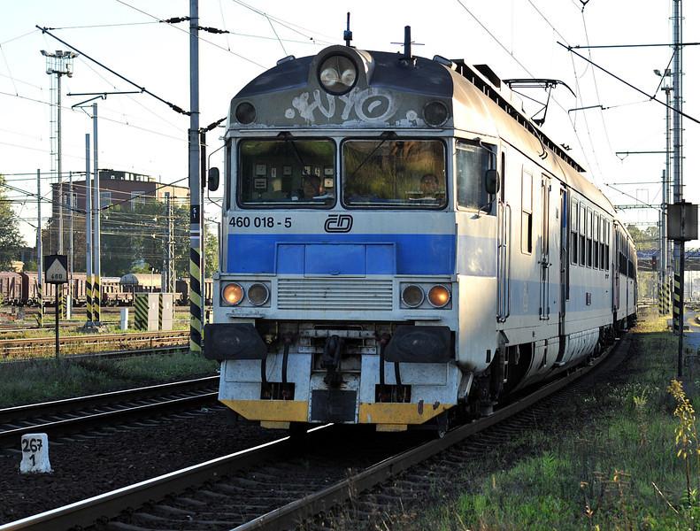 CD 460-018 arrives at Ostrava on 28 September 2011