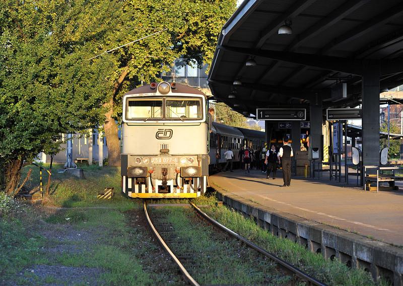 CD 754-077 arrives at Ostrava HN on 28 September 2011
