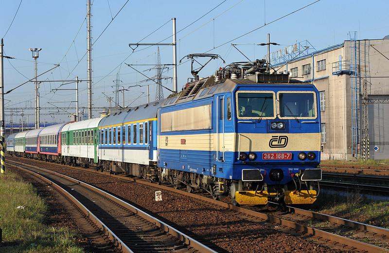 CD 362-168 arrives at Ostrava on 30 September 2011