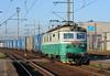 CD Cargo 123-023 runs through Ostrava on 30 September 2011 with an intermodal service