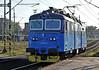 Repainted CD Cargo 130-039 runs through Ostrava on 28 September 2011