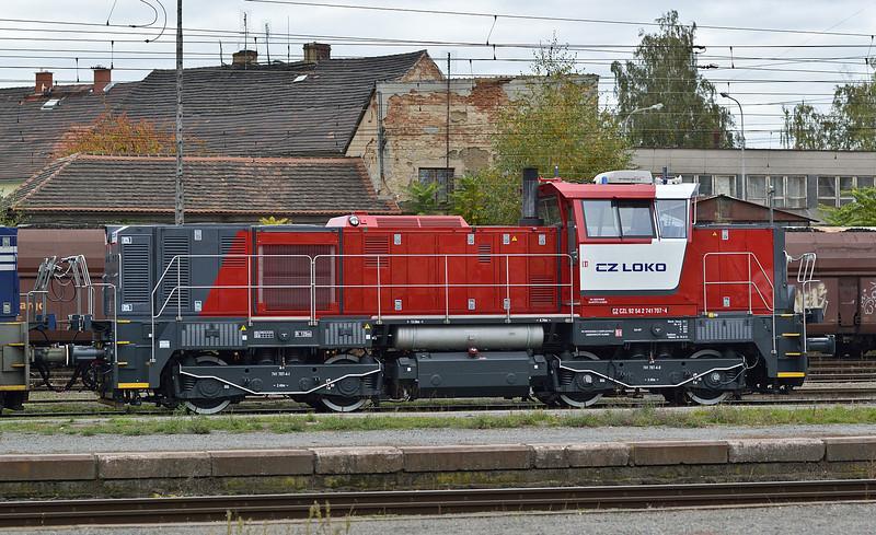 CZ Loko 741-707 Plzen 18 October 2013